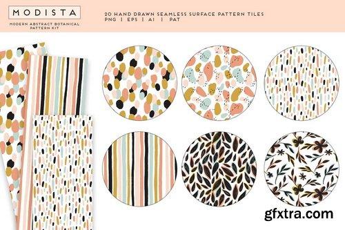 CM - Modista Abstract Botanical Patterns - 4574599