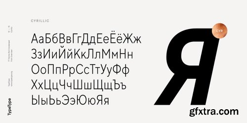 Myfonts TT Norms Std Condensed Font Family - 18 Fonts