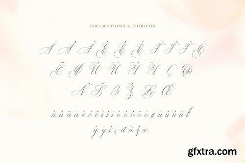 CM - Enica Stunning Script Fonts 4968344
