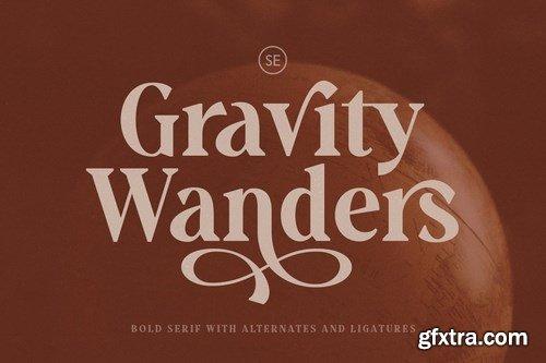 CM - Gravity Wanders - Stylish Bold Serif 4756775