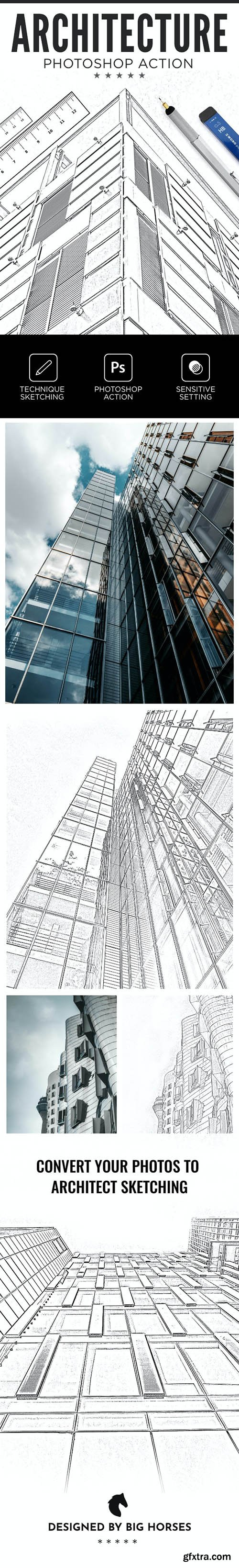 GraphicRiver - Architecture Photoshop Action 26533251