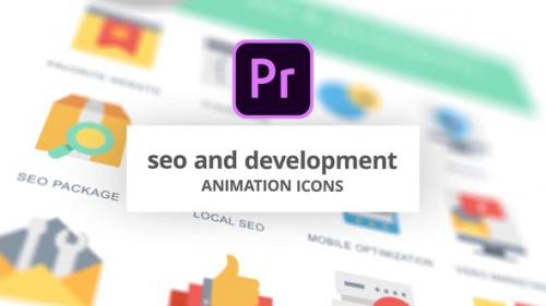 Videohive - SEO and Development - Animation Icons (MOGRT)