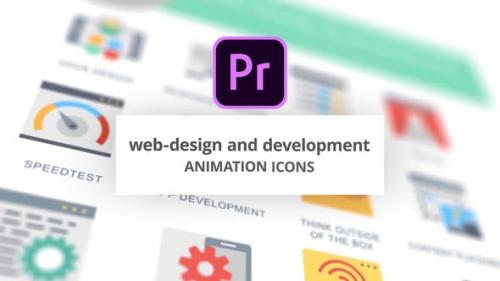 Videohive - WEB and Graphic Design - Animation Icons (MOGRT)