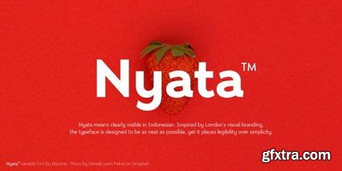 Nyata Font Family
