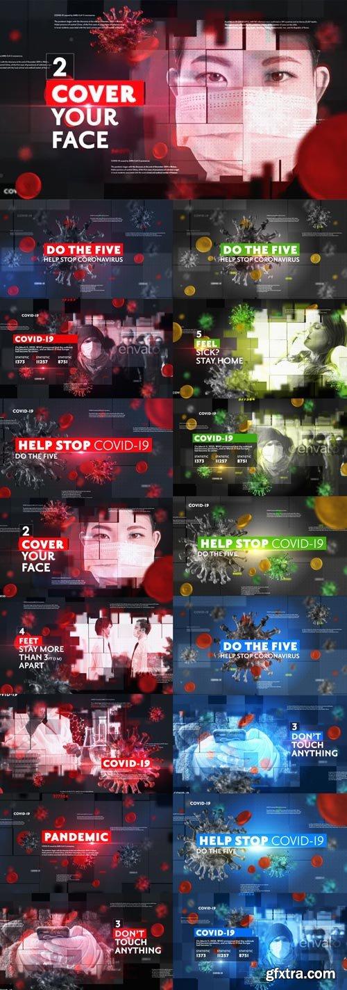 Videohive - Corona Virus News Opener - 26283771