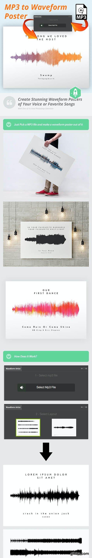 GraphicRiver - Waveform Artist - MP3 to Waveform Poster 20644757