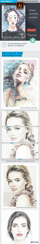 GraphicRiver - Vector Mosaic 21010337