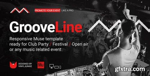 ThemeForest - GrooveLine v1.0 - Music Event / Festival / DJ Party Responsive Muse Template - 21482971