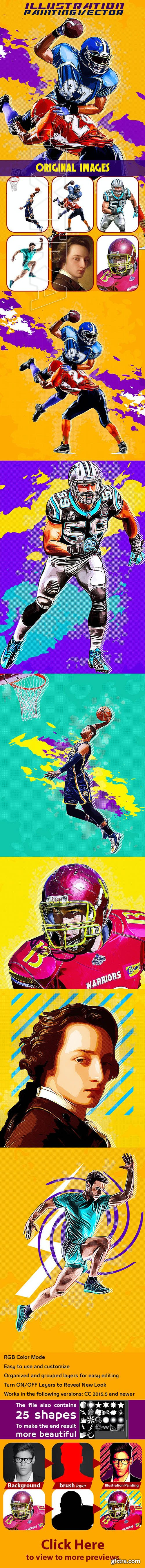 GraphicRiver - Illustration Painting Vector Action 26581141