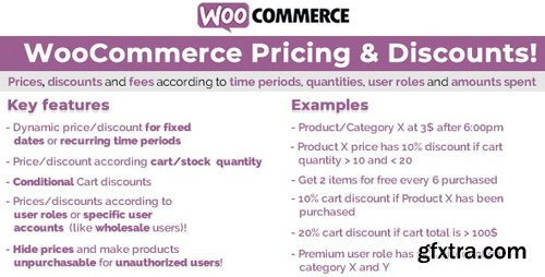 CodeCanyon - WooCommerce Pricing & Discounts! v12.9 - 14679278 - NULLED