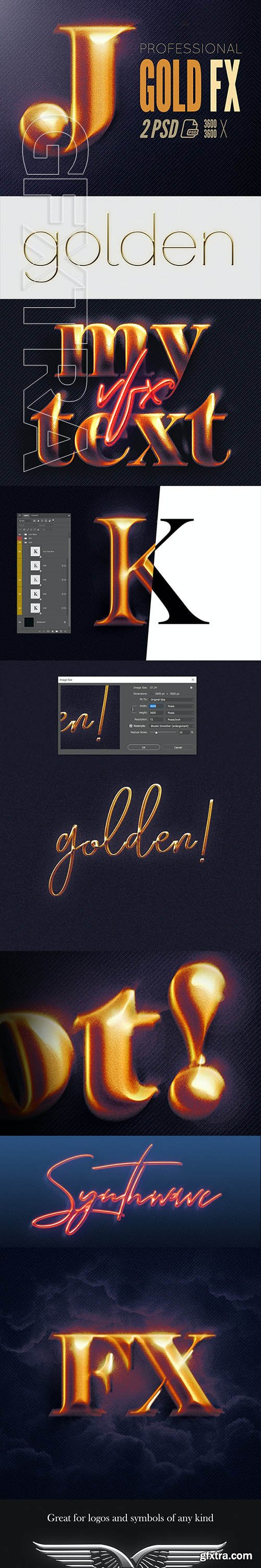 GraphicRiver - Epic Gold Effects for Adobe Photoshop 26676026