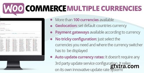 CodeCanyon - WooCommerce Multiple Currencies v4.1 - 23590806 - NULLED