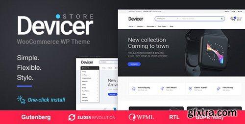ThemeForest - Devicer v1.0.7 - Electronics, Mobile & Tech Store - 21162601