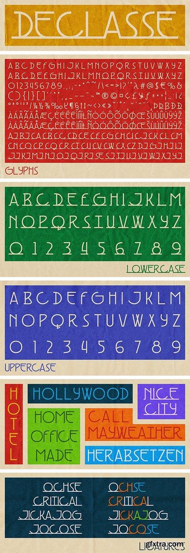Declasse Font