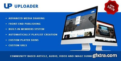 ThemeForest - Uploader v2.3.3 - Advanced Media Sharing Theme - 9760587