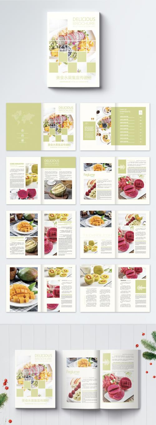 LovePik - food and fresh fruit brochure - 400338058