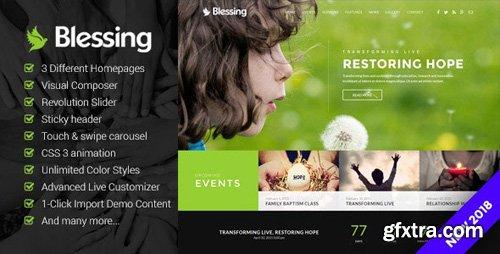 ThemeForest - Blessing v1.6.0 - Responsive WordPress Theme for Church Websites - 20514866