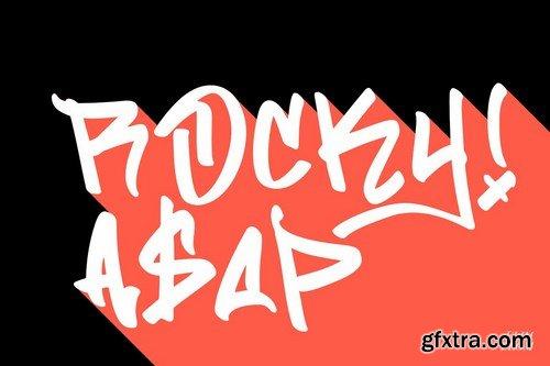 CM - Flim Flom - Graffiti Font 4877912