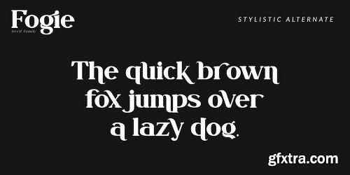 Fogie Font Family - 10 Fonts