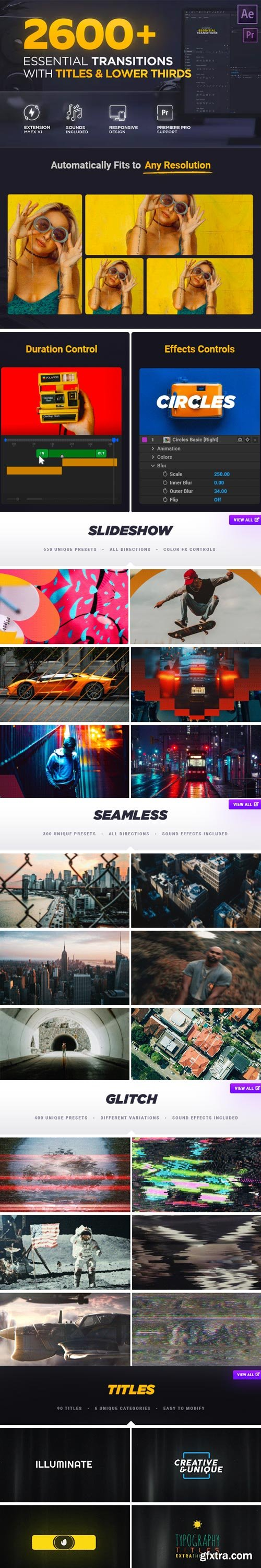 Videohive - Transitions V3 ( Last Update 19 May 20 ) - 20139771