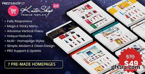 ThemeForest - KuteShop v2.0 - Fashion, Electronics & Marketplace Prestashop 1.7 Theme (RTL Supported) - 26687644