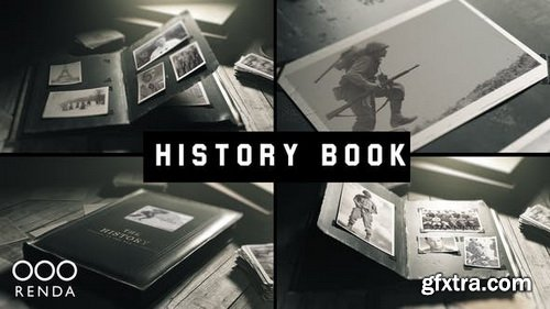 Videohive - Old Book History Album - 24946550