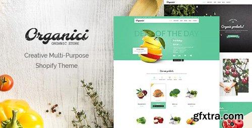 ThemeForest - Organici v1.0.3 - Creative Multi-Purpose Shopify Theme - 17108177