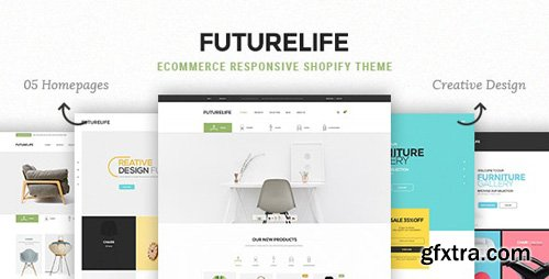 ThemeForest - Futurelife v1.0.1 - eCommerce Responsive Shopify Theme - 17387835