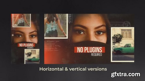Videohive - The Memories - Cinematic Slideshow - 26477737
