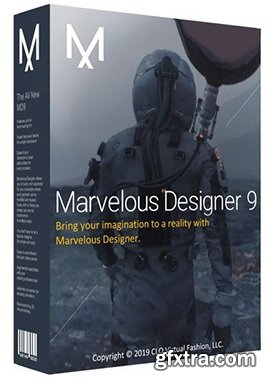 Marvelous   Designer 9.5 Enterprise 5.1.445.28680 (x64)   Multilingual