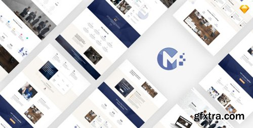 ThemeForest - Monero v1.0 - Business & Company Sketch Template - 26868069