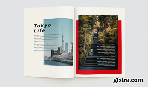 CreativeMarket - Asian Travel Magazine 4937395