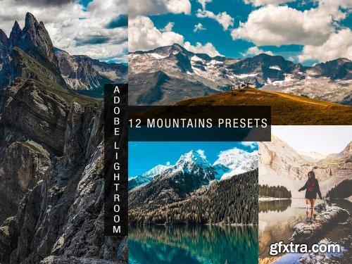CreativeMarket - 12 mountains lightroom presets 4830949