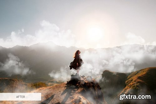 CreativeMarket - White Smoke Overlays Photoshop 4949072