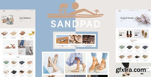 ThemeForest - Sandpad v1.0.0 - Sandals And Footwear Shoes Responsive Shopify Theme - 26873808