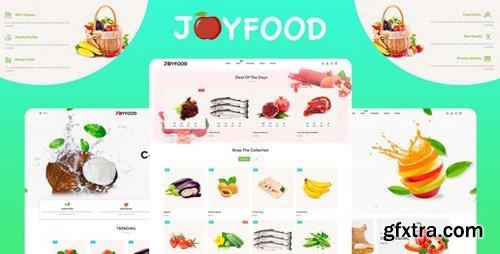ThemeForest - JoyFood v1.0.0 - Grocery, Supermarket Organic Food/Fruit/Vegetables eCommerce Shopify Theme - 26967417