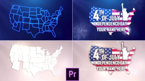 Videohive - USA Independence Day Opener - Premiere Pro
