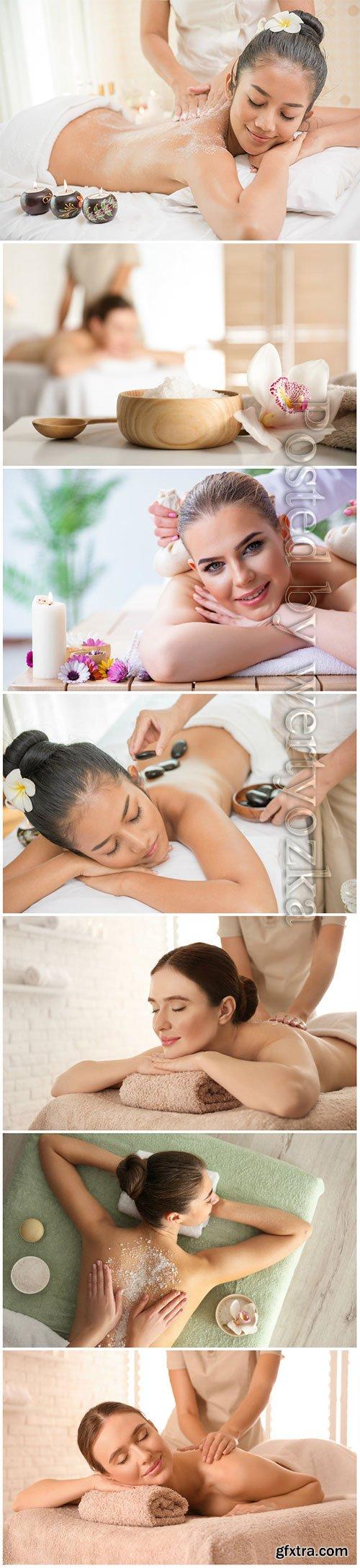 Spa treatments, beautiful, girls, spa, massage
