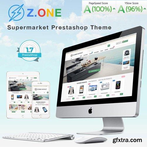 ZOne v2.4.9 - Supermarket Online Shop PrestaShop Template