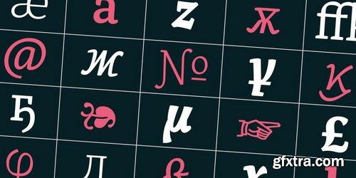 Alkes Font Family