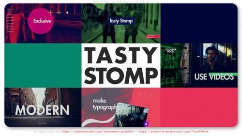 Videohive - Tasty Stomp Intro
