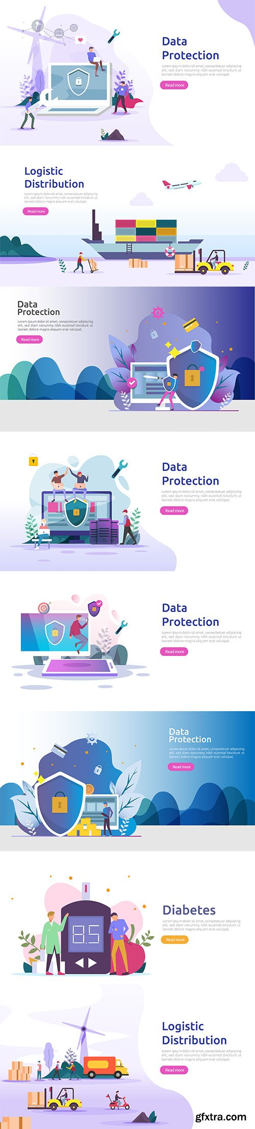 Confidentian Data Protection VPN Internet Illustration