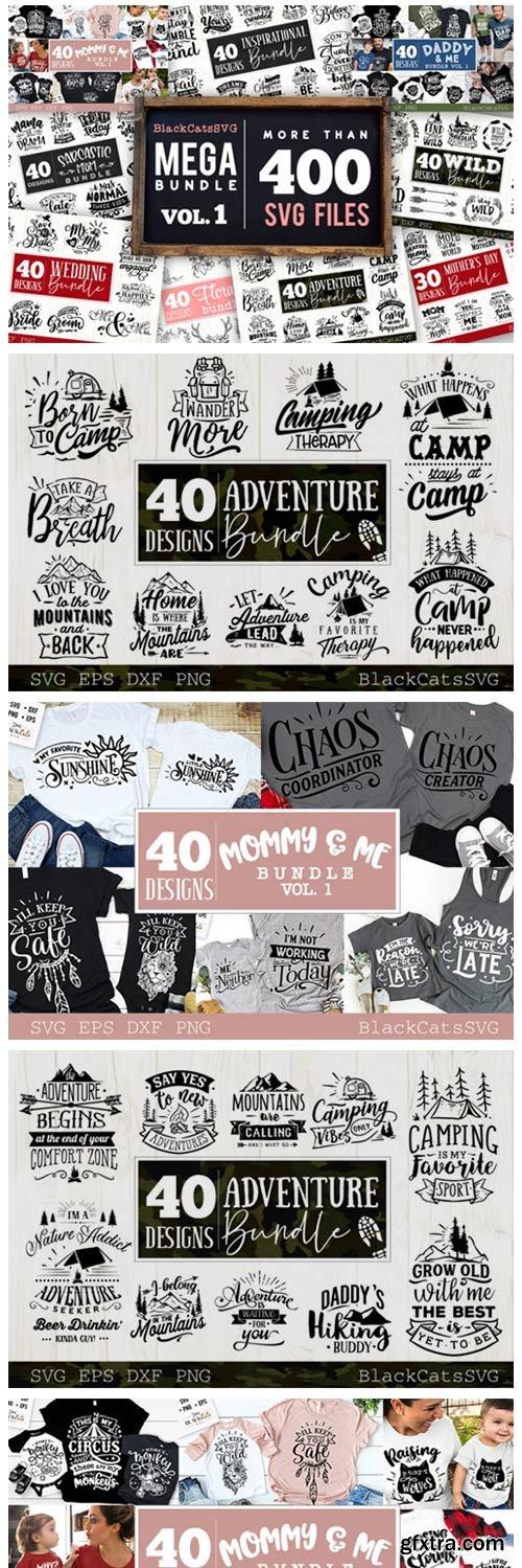 Mega Bundle 400 Designs Vol 1 4248510