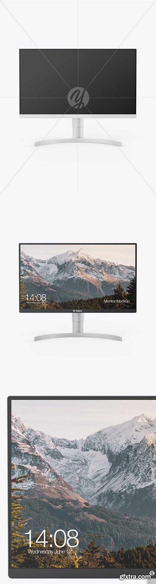 """27"""" Monitor Mockup 61371"""