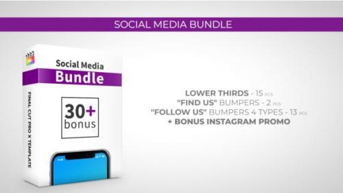 Videohive - Social Media Bundle - 27060437
