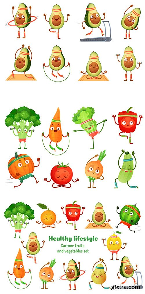 Sport fruits and vegetables
