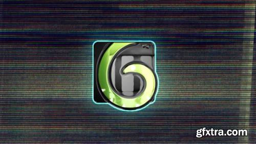 Videohive Split Glitchy Logo Reveal 24457251
