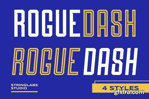 CM - Roguedash - Stylish Sans Font Family 5040021