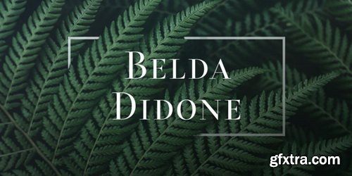 Belda Didone Font Family