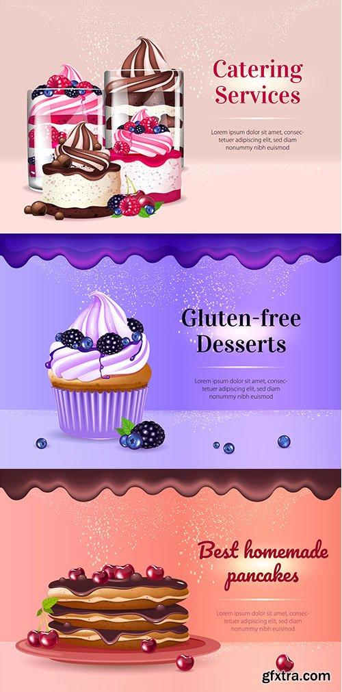 Gluten-free desserts banner